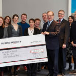 Law firm Gillespie Macandrew donated £30,000 to three charities: Children in Scotland, Rock Trust, and Rossie Young Peoples Trust