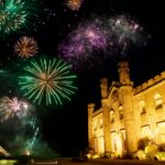 Pr agency Edinburgh, celebrating Hogmanay New Year 2020 in Edinburgh at Dundas Castle, events and wedding private venue, Scottish Castle