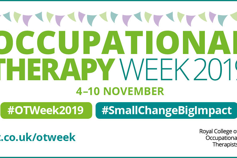 Occupational Therapy week is supported by the Royal College of Occupational Therapists
