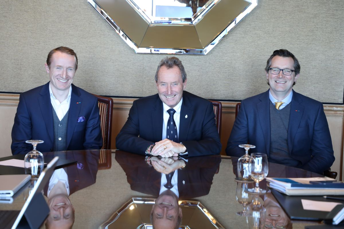 Image of James Donaldson & Sons new senior team, as Andrew Donaldson and Michael Donaldson take over as chief executive officer and chairman.