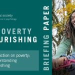 Front page of the British Psychological Society's new briefing on tackling poverty with a psychologically informed strategy