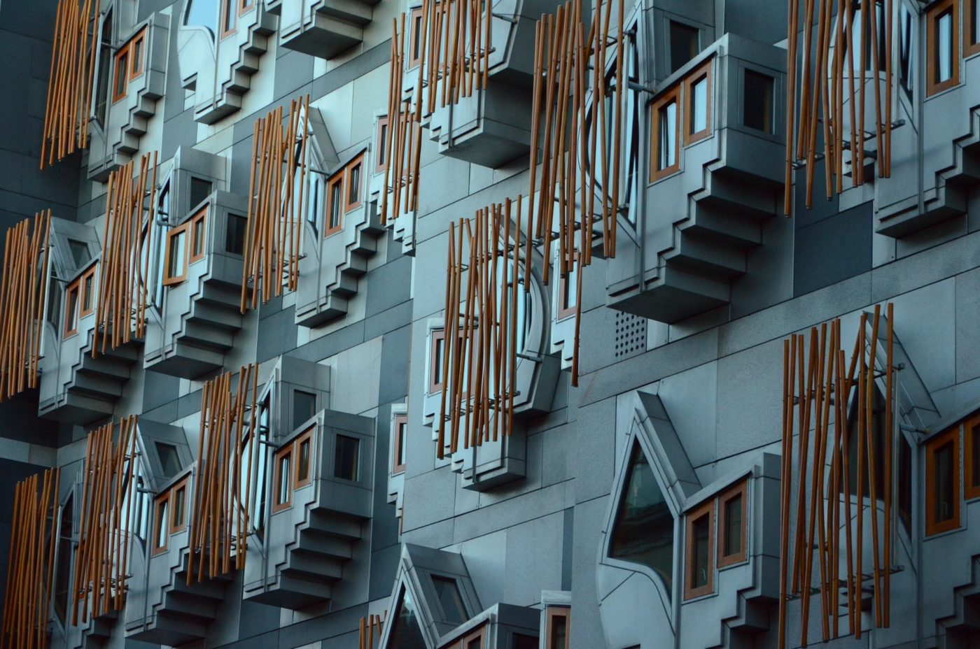 An image of the outside of Scottish Parliament, as the British Psychological Society publishes its manifesto ahead of the 2021 Holyrood election