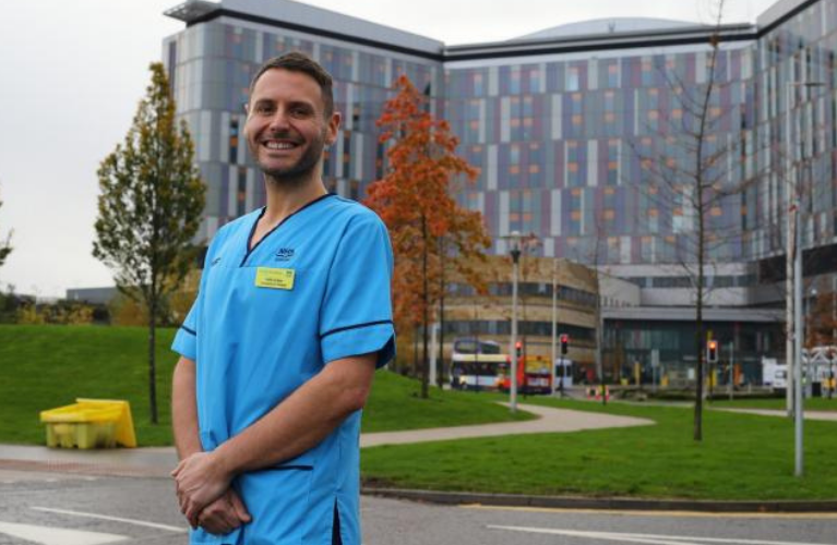 Iain Jordan is an Occupational Therapist at the Queen Elizabeth University Hospital