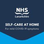 NHS Lanarkshire self-care at home for mild Covid-19 symptoms