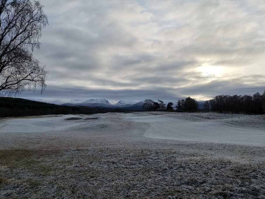 Cairngorms view in winter