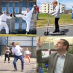 Scottish party leaders on the campaign trail